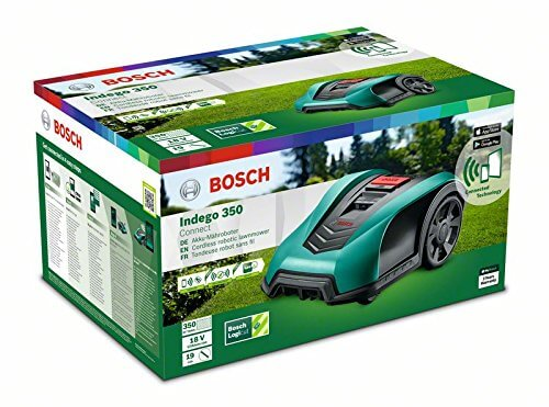 bosch indego 350 connect neu rasenm her roboter test. Black Bedroom Furniture Sets. Home Design Ideas